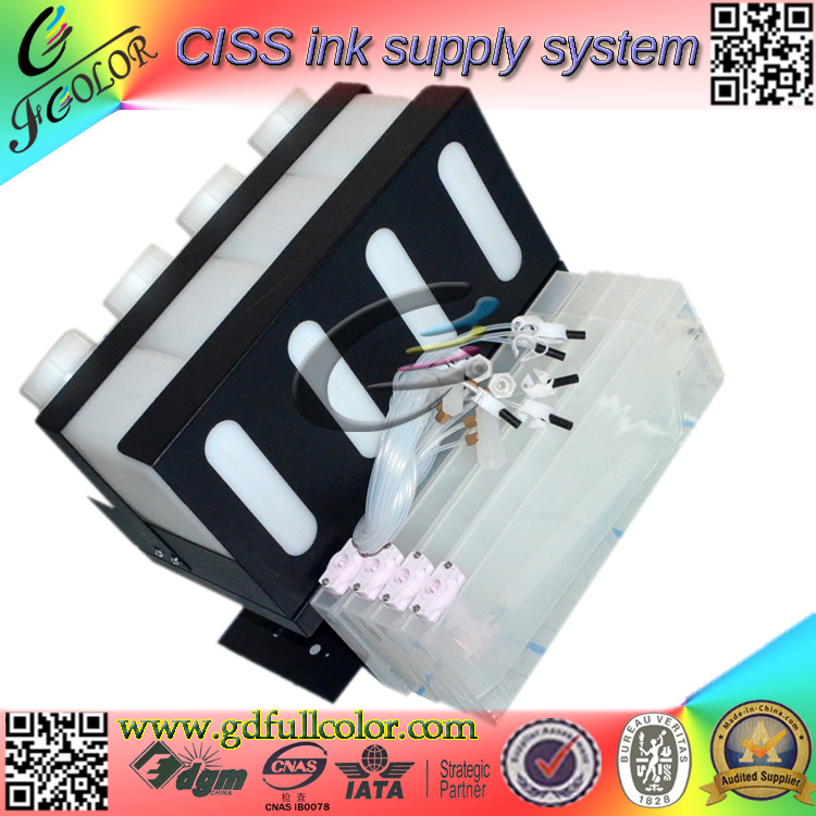 China Factory 4 Tank 4 Cartridge Stronger 4 Color CISS for Roland Bulk Ink System 4 bottles 4 cartridges roland bulk ink system