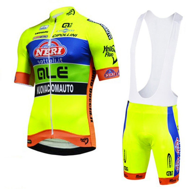 New Ale Cycling Jersey Short Sleeves Set MTB Bike Fluo yellow Ropa Ciclismo Bicicleta Maillot Ciclismo Hombre Men clothing tinkoff saxo bank cycling jersey ropa clismo hombre abbigliamento ciclismo men s cycling clothing mtb bike maillot ciclismo d001