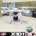 X101 MJX zangão 2.4G RC 6-axis quadcopter pode adicionar diferentes tipos de câmera