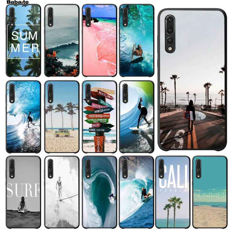 Babaite Beach Surf Travel Phone Case cover Shell for Huawei P10 plus 20 pro P20 lite mate9 10 lite honor 10 view10 Cover