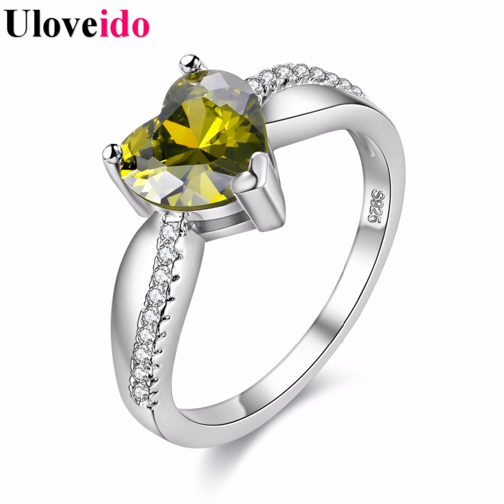 Costume Jewelry Rings For Women Silver Color One Piece Marriage Ring Female  Titanium Ringen Anel Feminino