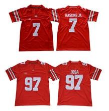 9052aa275 Youth Ohio State Buckeyes 7 Dwayne Haskins Jr. 97 Joey Bosa Stitched  College Football Jersey