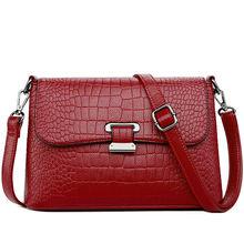 Women Messenger shoulder Bag Cowhide High Quality crossbody bags Casual Solid Zipper 4 Colors fashion handbag bolsa feminina