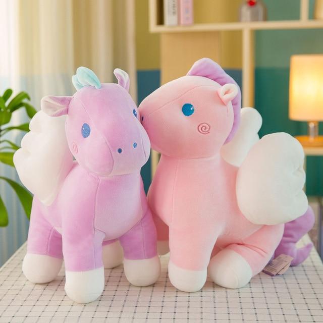 25cm 35cm 55cm Plush Toys Giant Plush Unicorn Horse Stuffed Animals