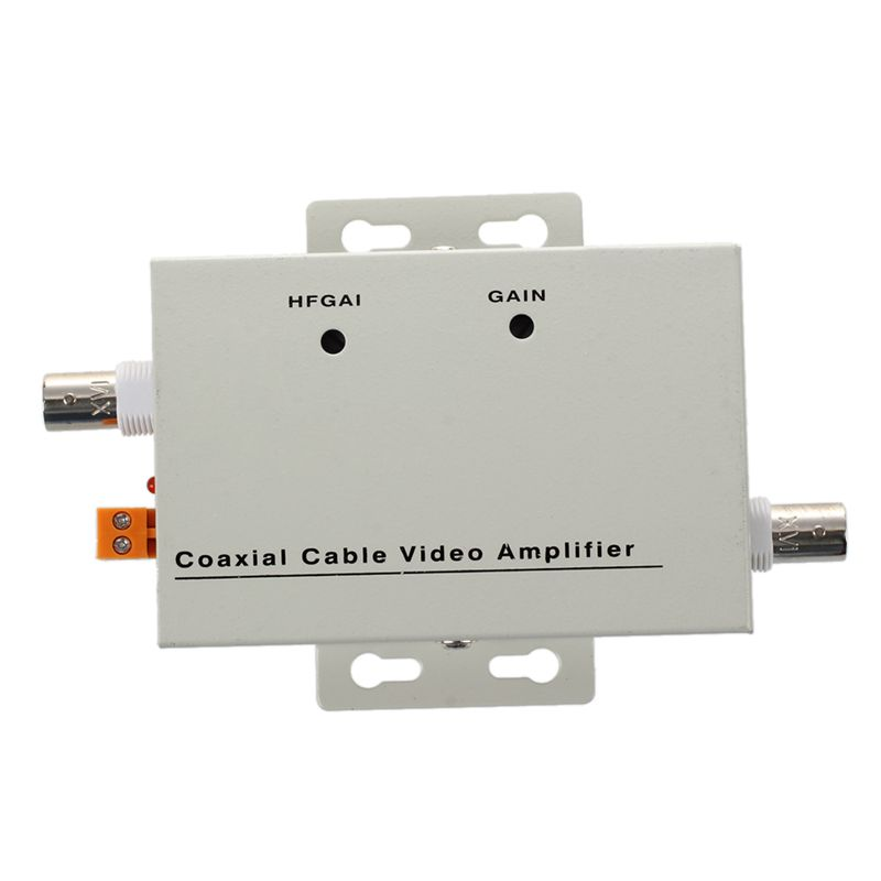 MOOL BNC Coaxial CCTV Video Balun Amplifier for CCTV Camera