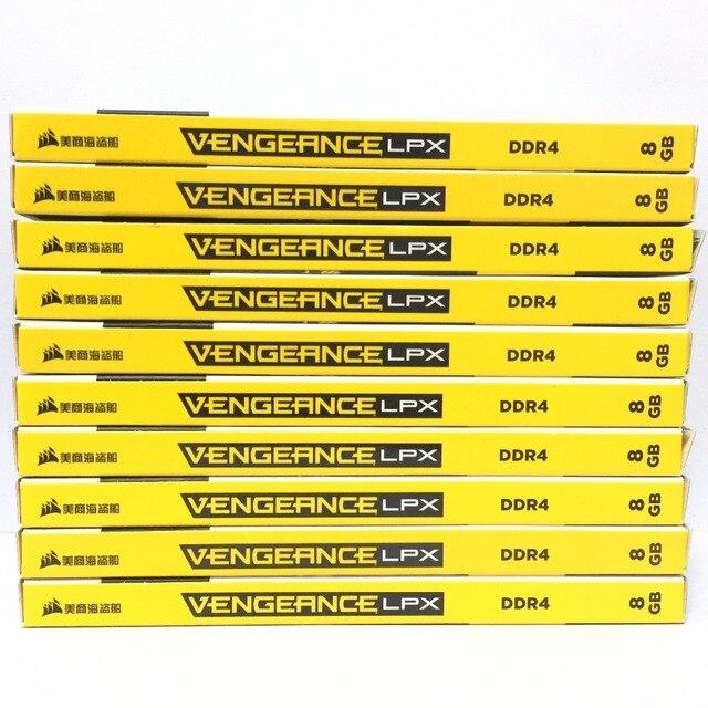 CORSAIR Vengeance LPX 8 Гб 8 г DDR4 PC4 2400 МГц 3000 МГц 3200 модуль Mhz 2666 МГц 3600 МГц ПК ОЗУ компьютера памяти 16 ГБ 32 ГБ DIMM 3