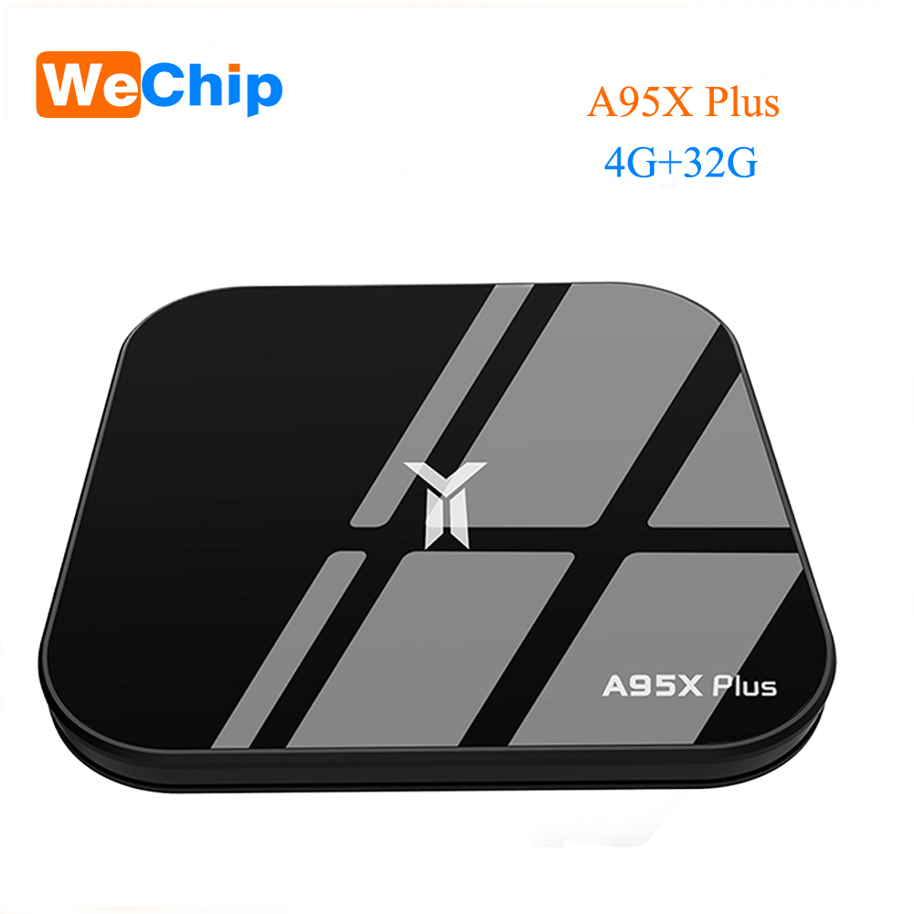A95X Plus Smart TV Box 4GB Amlogic S905 Y2 Android 8.1 4GB DDR4 32GB ROM 2.4G /5G WiFi USB3.0 BT 4.2 Support 4K HD Media Player 4k