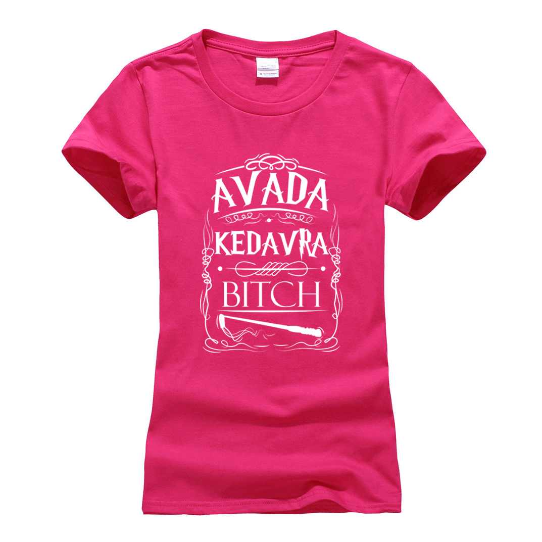 summer cotton brand camisetas punk tops tee Avada Kedavra funny print women t-shirt 2019 Fashion harajuku cotton tee shirt femme