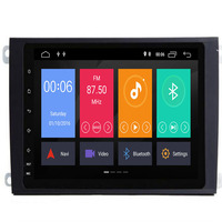 Android 9.0 4G CAR GPS For Porsche Cayenne 2002 2009 multimedia player Audio stereo radio auto dvd screen navigation IPS no dvd