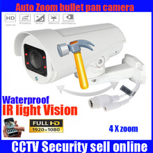 4X Motorized Zoom Lens 2.8-12 mm 2MP  P2P Onvif 2.4 H.264 CCTV Outdoor Security IR Night Vision camera free power supply