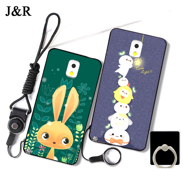 """Case for Samsung Galaxy Note 3 Fitted Cover for Galaxy Note 3 N9000 SM-N900 N9005 5.7"""" Soft Silicone Phone Bags Back Cases J&R"""