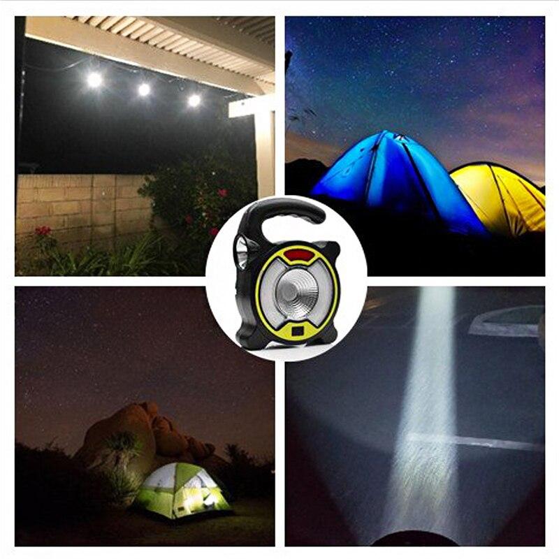 Acampamento Lanterna Portátil 4 Modos de Lâmpada