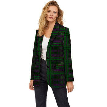 Dashiki print women blazers made to measure clothing for ladies business style suit jacket for lady gucci made to measure