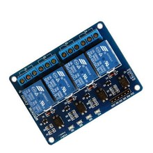 New 1 PCS 5V Four 4 Channel Relay Module optocoupler For PIC AVR DSP ARM Arduino 8051 VE274 P10