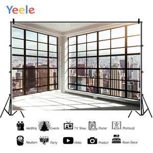 Image 2 - Yeele חלון מסגרת בנייני ברק חדר פנים צילום רקע מותאם אישית צילום תפאורות צילום סטודיו