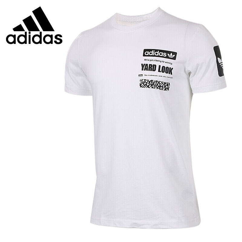 Original New Arrival Adidas Originals S S GRAPHIC TEE Men s T shirts short sleeve Sportswear