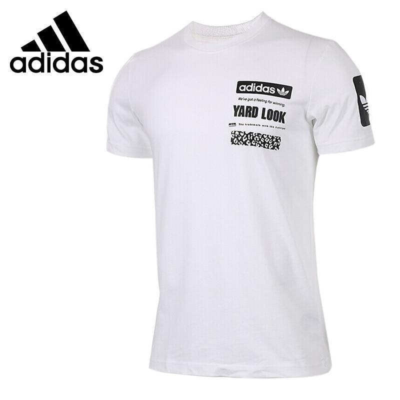 Original New Arrival Adidas Originals S/S GRAPHIC TEE Men's T-shirts short sleeve Sportswear original new arrival nike tee flower women s t shirts short sleeve sportswear