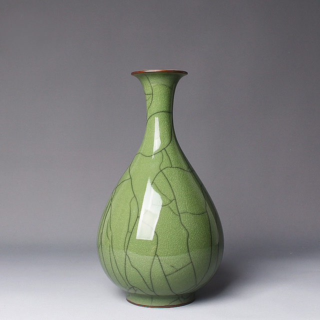 Aliexpress Buy Longquan Celadon Vase Master Handmade Works Ice