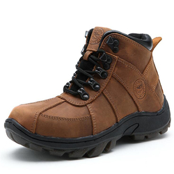 Children Boots Genuine Leather Kids Boots Boys & Girls Snow Boots Kids Winter Shoes Cow Muscle Children Shoes
