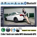 2 din 7 inch Car Radio 8G map card avialable MP5 MP4 Player GPS Stereo video FM USB TF bluetooth steering wheel control