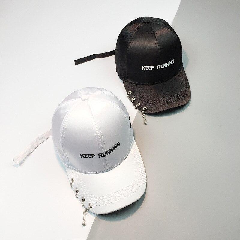 Prix pour HT1060 Nouvelle Mode Chaînes et Voix Tube Punk Hip Hop Caps pour hommes 2017 élégant snapback baseball casquettes femmes summer sun cap