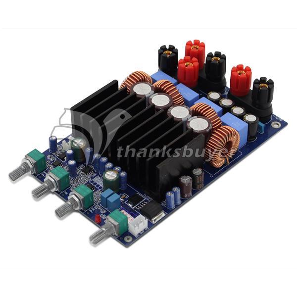 TAS5630 2.1 4ohm Class D Digital Amplifier Board 300W+150W+150W Free Shipping assembled tas5630 2 1 digital amplifier board 300w 150w 150w