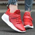Fashion Leather Men Casual Shoes Trainers 2017 Spring Low Top Back To The Feature Valentine Shoes Sport Outdoor Shoes YD90