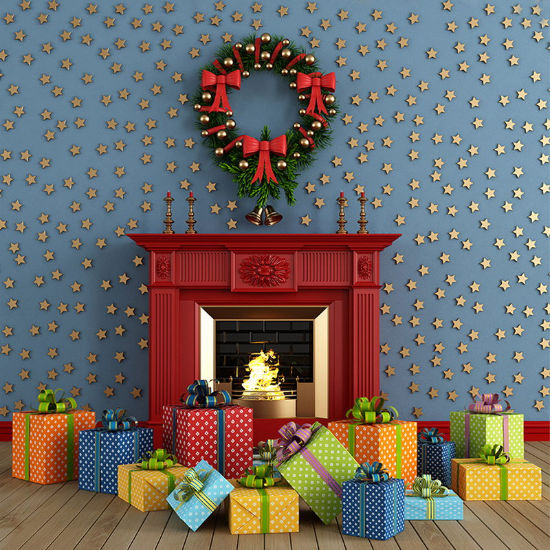 10X10ft  thin vinyl photography  backgrounds Computer Printed children Christmas Photography backdrops for Photo studio new year santa workshop backgrounds for sale vinyl cloth high quality computer printed christmas backdrops
