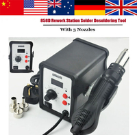 2015 Brand NEW Hot 858D 220V Air Gun Soldering Station Iron Tool Solder Welding 60W ESD