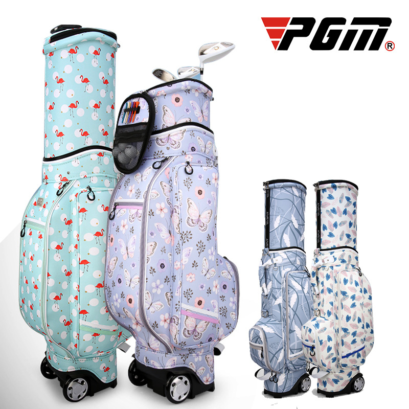 PGM Golf Bag Lady Bag Printed Flexible Pulley Waterproof High capacity Airbag