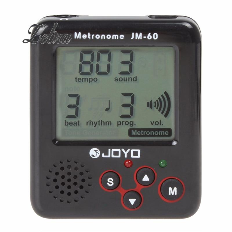 JOYO JM-60 Mini Portable Clip-on Electronic Digital Metronome Tone Generator Tuner for Guitar Violin Ukulele Tempo Training