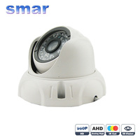 Analog High Definition Surveillance Dome Camera 1 4 CMOS 1 0MP 720P AHD CCTV Camera Security