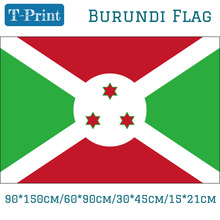 Free shipping Burundi National Flag 15*21cm Hand Flag 90*150cm 60*90cm 30*45cm Car Flags For World Cup Olympic Games цена