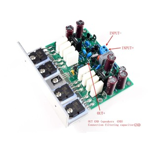 Image 2 - Lusya 2Pcs Hi End L20 Ver 10 Stereo Eindversterker Afgewerkt Boord 200W 8R Met Hoek Aluminium d2 011