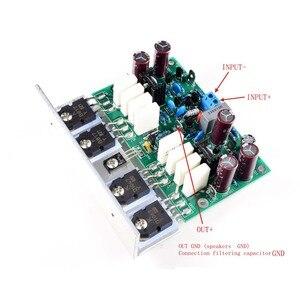 Image 2 - Lusya 2pcs HI END L20 VER 10 Stereo Amplificatore di Potenza A Bordo Rifinito 200W 8R Con Angolo di Alluminio d2 011