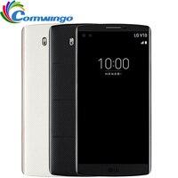 סמארטפון המקורי LG V10 4 GB RAM 64 GB ROM אנדרואיד 16MP Hexa Core 5.7 ''2560*1440 4 גרם LTE lgv10 הסלולר טלפון חכם טלפון