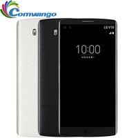Unlocked Orijinal LG V10 4 GB RAM 64 GB ROM Android 16MP Hexa Çekirdek 5.7 '' 2560*1440 4G LTE Akıllı telefon Cep Telefonu lgv10 telefon