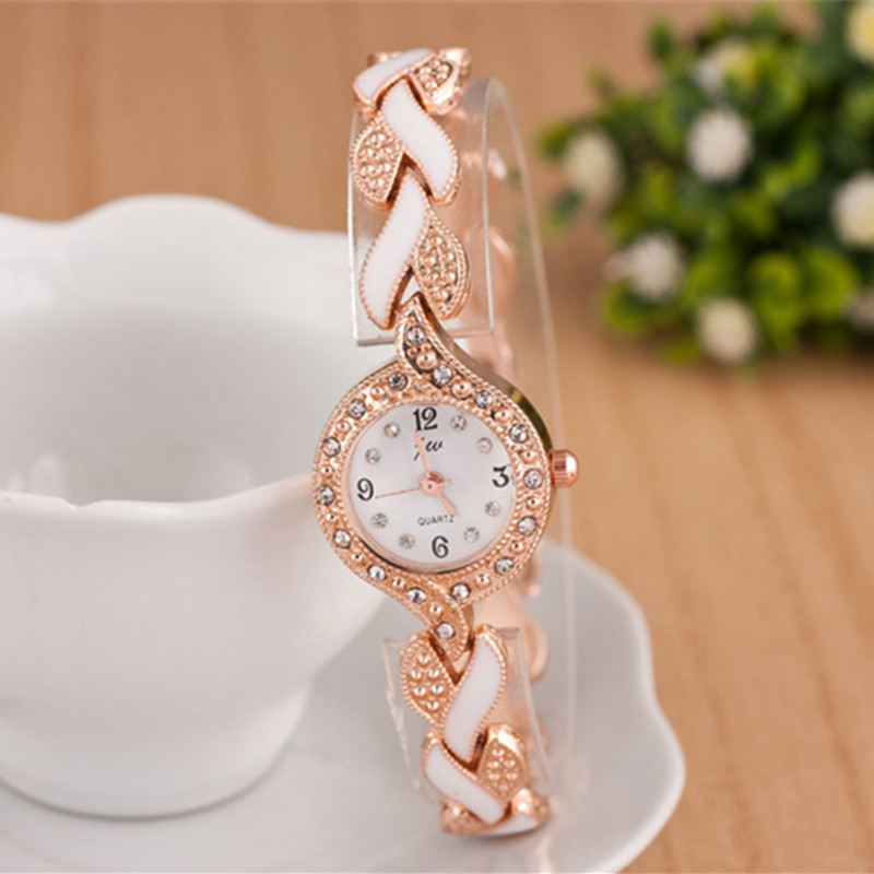 2018 New Brand JW Armband Klockor Kvinnor Luxury Crystal Klänning - Damklockor - Foto 4