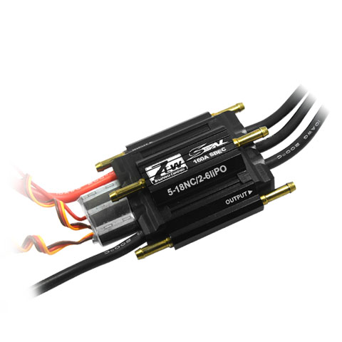 ZTW SEAL 160A SBEC 3A brushless ESC Great performance for RC boat With forward and reverse two-wayZTW SEAL 160A SBEC 3A brushless ESC Great performance for RC boat With forward and reverse two-way