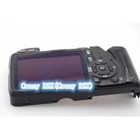لكانون 550D الخلفية الغطاء الخلفي حالة مع LCD و الكابلات المرنة و زر كاميرا الجزء إصلاح