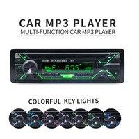 Fm Remote Control 12v Car Audio Auto Radio Bluetooth Usb Sd Autoradio 1 Din Auto Car Radio Stereo Player Bluetooth Mp3