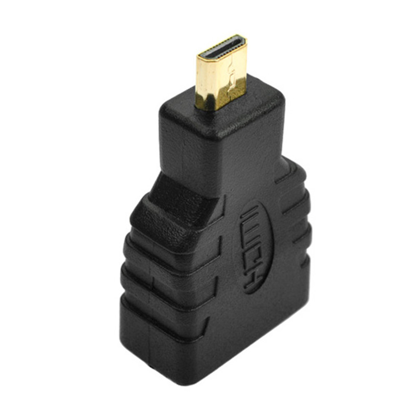 Mayitr 1pc Micro HDMI Male to HDMI Female Adapter High Quality Type D Male to A Female HDMI Connector V1.4 FOR HDTV Camera