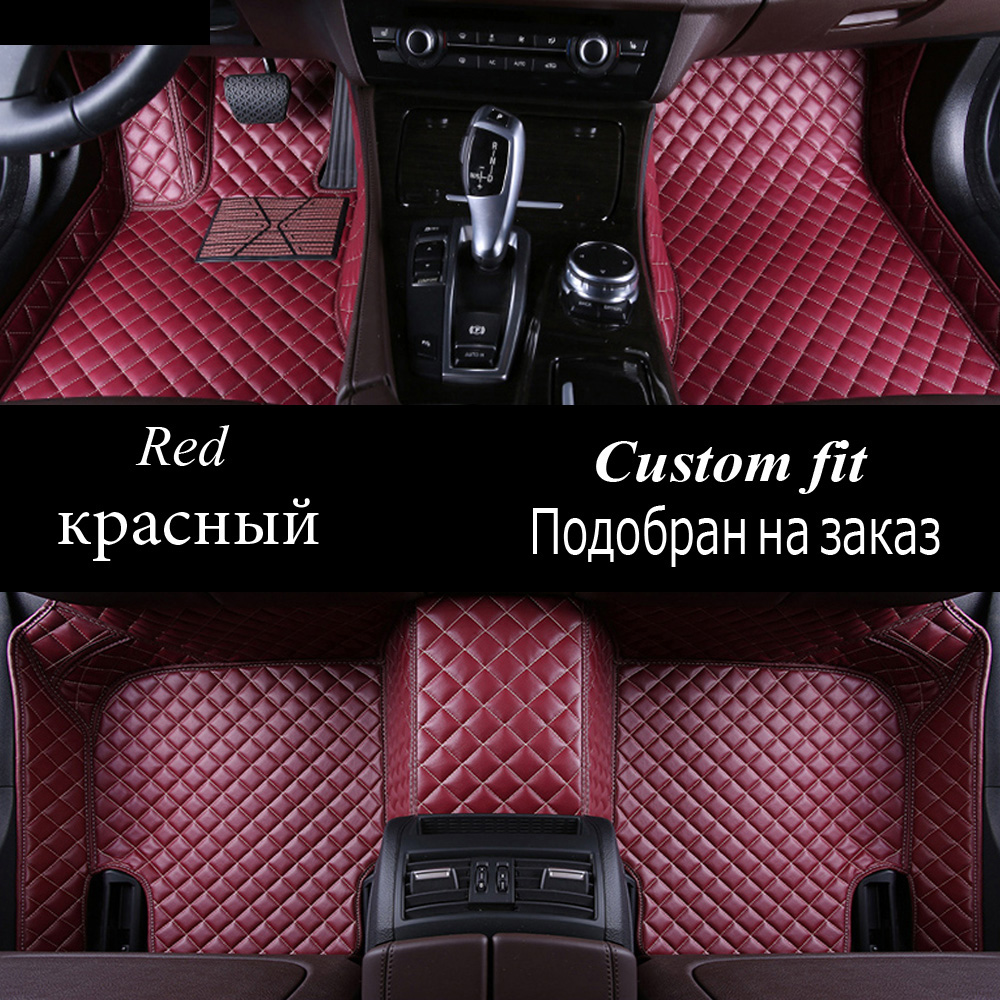 Car floor mats for Hyundai Tucson 2016 ix35 all weather protection heavy duty car styling carpet floor liners