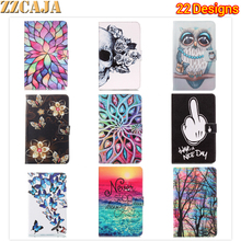 ZZCAJA for Apple iPad 2 3 4 Case Painted Flip Leather Shell for iPad