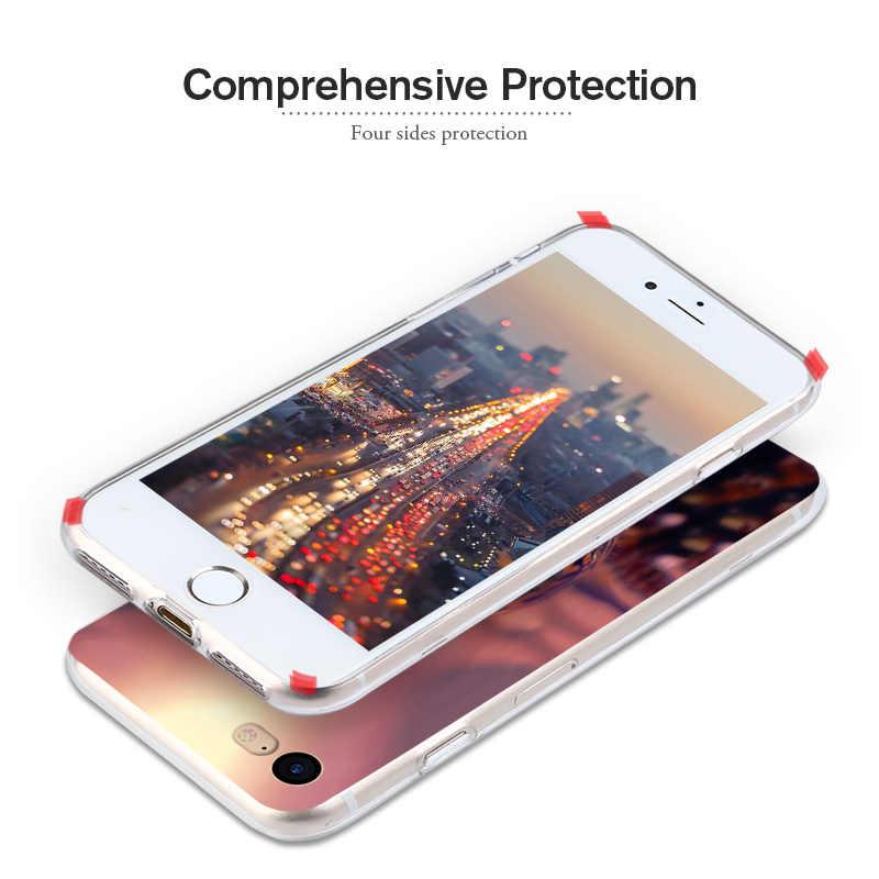 3D DIY Case untuk Alcatel Coque untuk Alcatel A3 3 5.0 ''Back Cover Lembut TPU Slicione Shell untuk Alcatel a3 5046Y 5046D Telepon Kasus