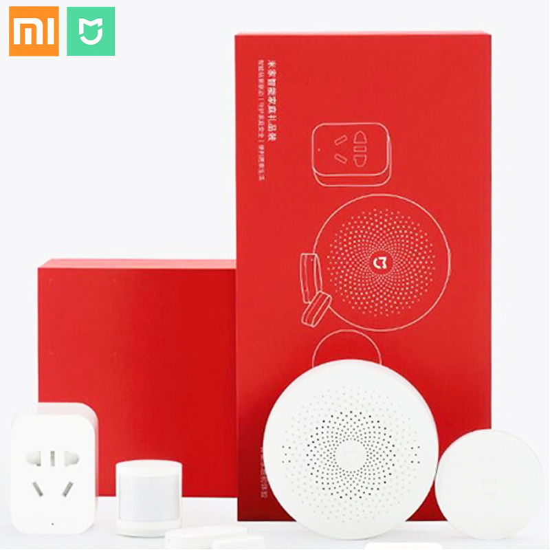 Xiaomi Mijia Smart Control Security Set Multifunctional APP contro Gateway Window/Body Sensor Wireless Switch WiFi Socket ZigBeeXiaomi Mijia Smart Control Security Set Multifunctional APP contro Gateway Window/Body Sensor Wireless Switch WiFi Socket ZigBee