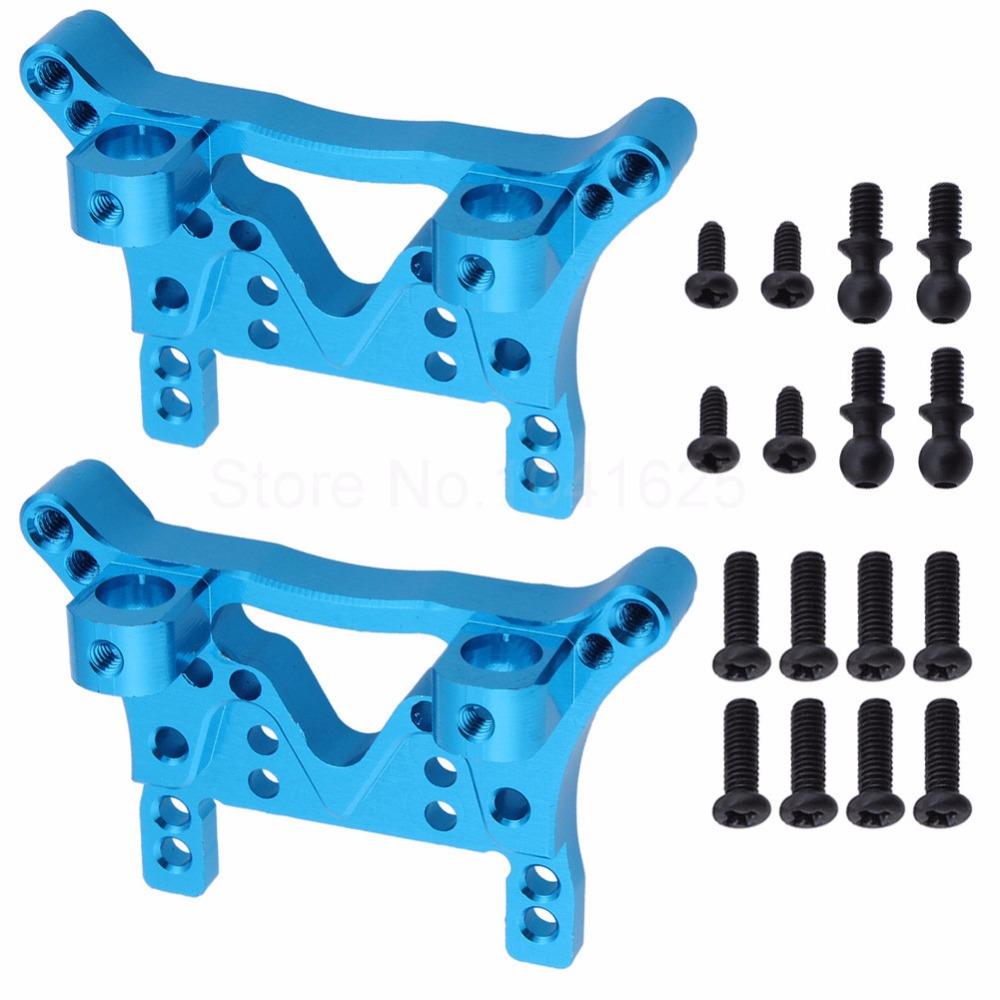 цена на WLtoys A949-09 Aluminum Alloy Front & Rear Shock Tower For A949 A959 A969 A979 K929 Upgrade Parts Replacement