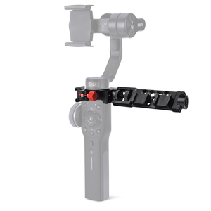 Image 2 - 4 Ring Arm Set Cold Shoe Adapter Ring for Zhiyun Smooth 4 Monitor LED Video Light,Microphone Extension Arm Mount Rosette Gear