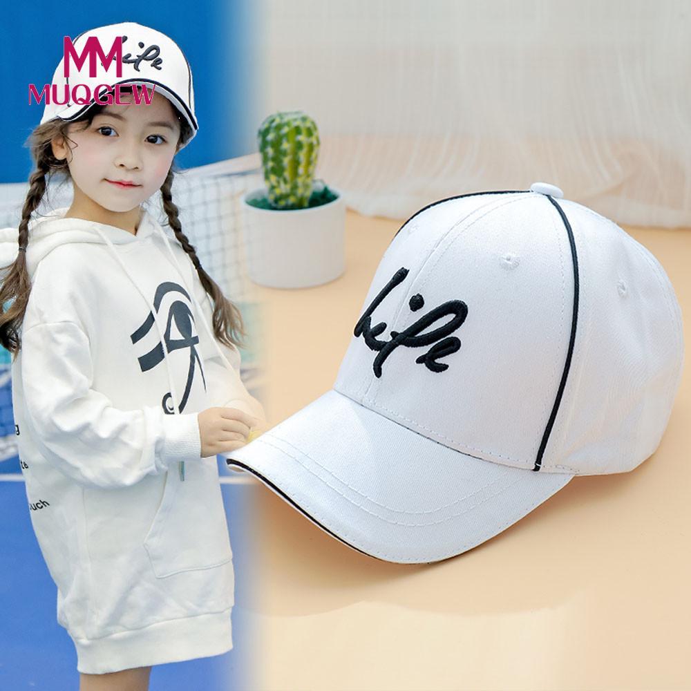 MUQGEW 2018 детские для мальчиков и девочек солнца Бейсбол Кепки шапка шляпа Кепки дети Письмо Хлопок Дети Бейсбол шапка для мальчиков и девочек ...