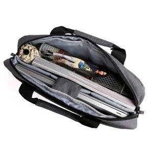 """Image 4 - Kingsons للماء 12.1 13.3 14.1 15.6 17.3 بوصة حقيبة لابتوب للرجال النساء حقيبة كمبيوتر محمول حالة الكتف حقيبة ساعي 17"""""""